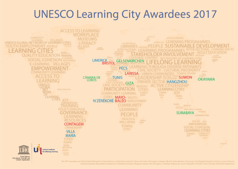 UNESCO Learning City Award 2017